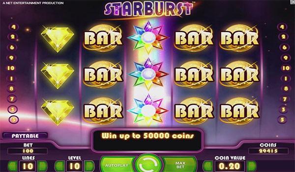 Starburst Slot By NetEnt